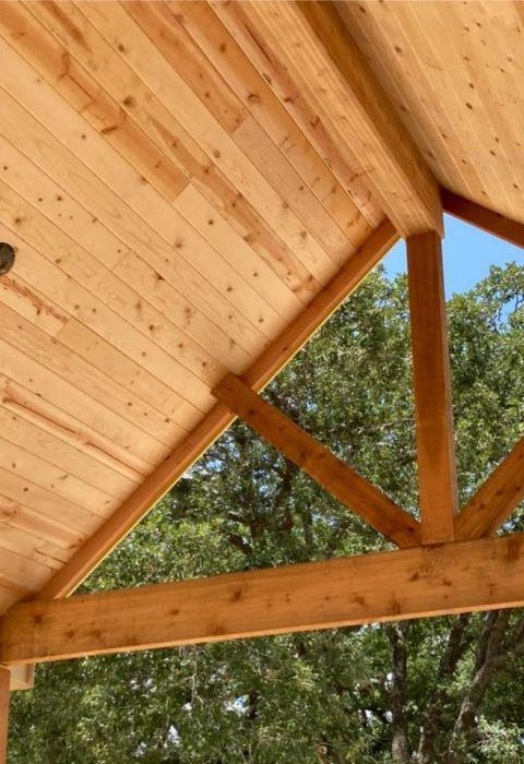 Cedar beam 1